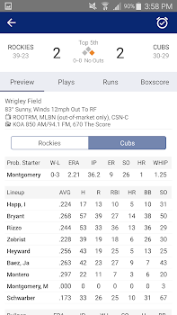 Cubs Baseball: Live Scores, Stats, Plays & Games