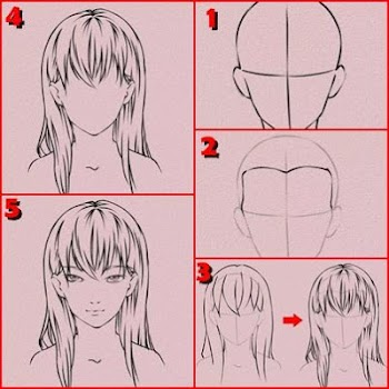 Easy Drawing Anime Tutorial By Pitlord Art Design Category