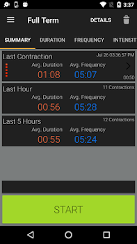 Full Term - Contraction Timer