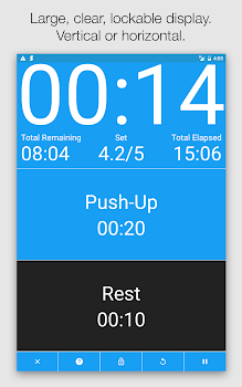 Seconds - HIIT Interval Timer