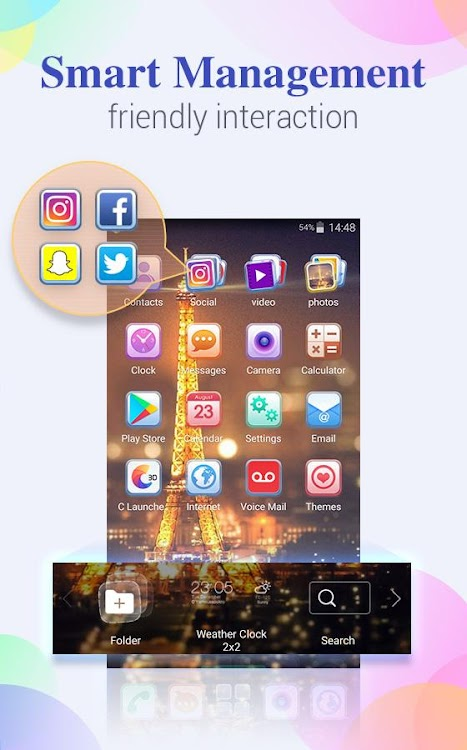 U Launcher Lite – FREE Live Cool Themes, Hide Apps - by Moboapps Dev
