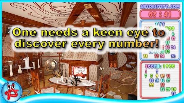 Mystery Numbers: Hidden Object