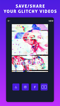Glitch VHS Art Camera Aesthetic Video Filters