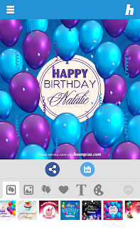 Happy Birthday Card Maker By Hoang Cao Photography Category