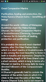the great compassion mantra of avalokiteshvara