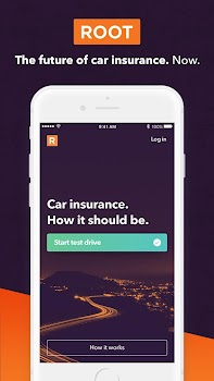 Root Car Insurance App - Drive Safe and Save Money