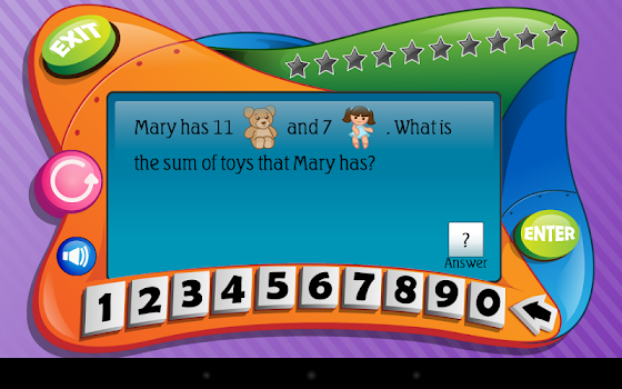 First Grade Math (Lite) - by Intellijoy Educational Games