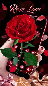 3D Red Roses Love Theme