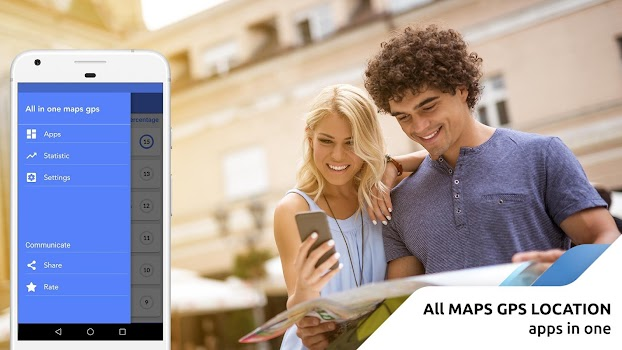Maps GPS Navigation - Location Driving All-in-one