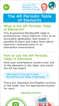 Ar periodic table of elements by ar periodic table of elements urtaz Images