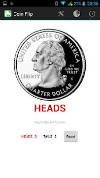 Coin Flip - ( Heads or Tails )