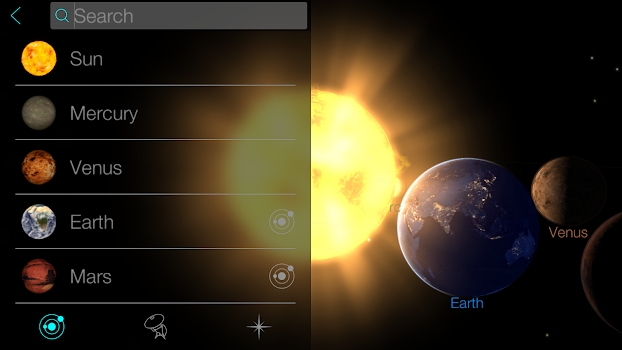 Solar Walk Free - Explore the Universe and Planets