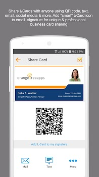 new product c7814 22f59 L-Card Pro - by OrangeTreeApps, LLC - Category - 84 Reviews ...