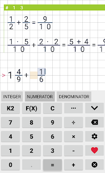 Fraction calculator Free