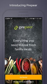 Prepear - Meal Planner, Grocery List, & Recipes