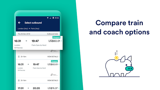 Trainline: Europe's leading train and coach app
