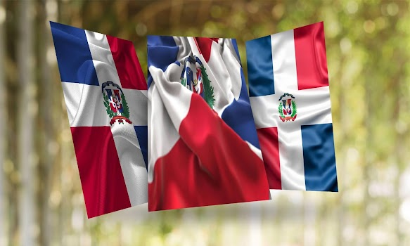 Dominican Republic Flag Wallpaper