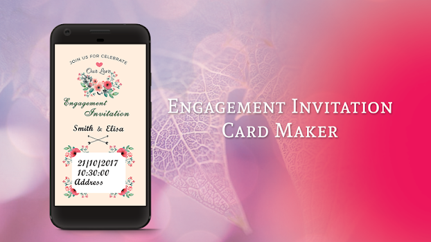 Engagement invitation card maker by seton foster social engagement invitation card maker by seton foster social category 45 reviews appgrooves best apps stopboris Images