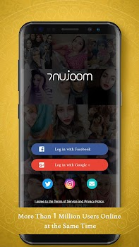 7Nujoom– Live Stream Video Chat & Random Chat Room