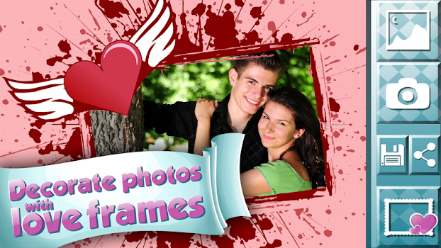 love pictures photo frames by photo editors and picture effects
