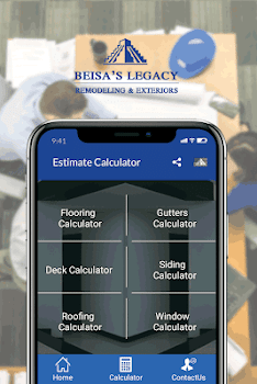 siding roof decks home renovation calculator by beisa s