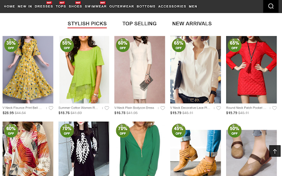 Berrylook Online Store By Rolling Out Shopping Category 88