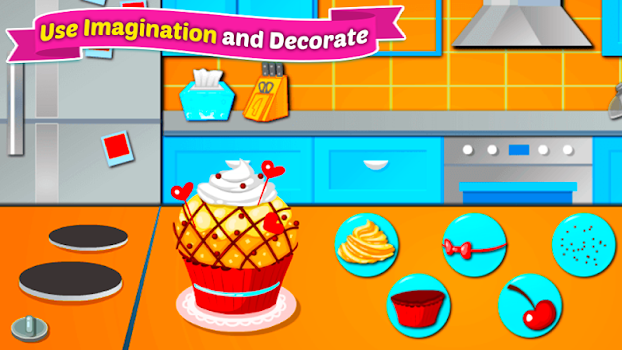 Baking Cupcakes - Cooking Game
