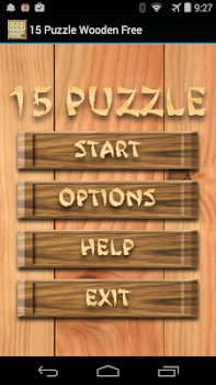 15 Puzzle Wooden Free