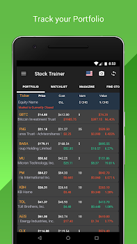 Stock Trainer: Virtual Trading (Stock Markets)