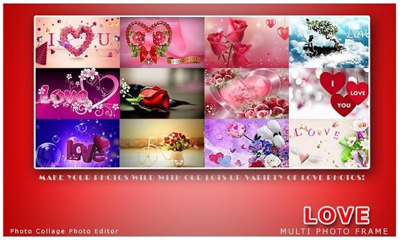 Romantic Love Photo Frames - by Photo Collage Photo Editor ...