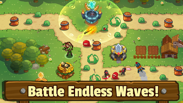 Realm Defense: Hero Legends TD Epic Strategy Game