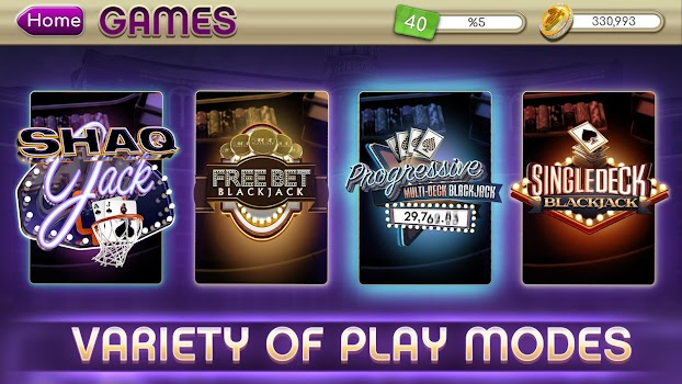 myVEGAS Blackjack 21 - Free Vegas Casino Card Game