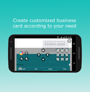 Business card maker by unified apps 5 app in business card business card maker wajeb Images