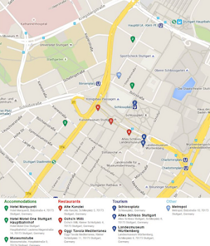 Stuttgart Map by Mappopolis Travel Local Category 0 Reviews