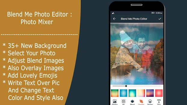Blend Me Photo Editor , Mirror Photo , PIP Maker