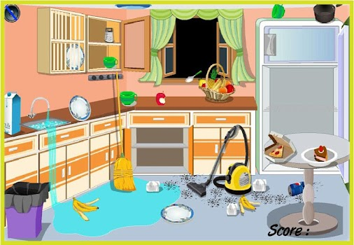 Home Cleanup Game