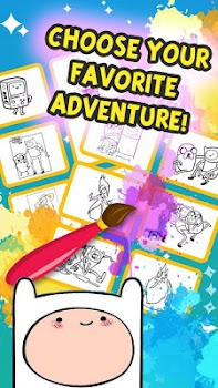 Fun Adventure Of Time Coloring Online Game - by linhchibi ...