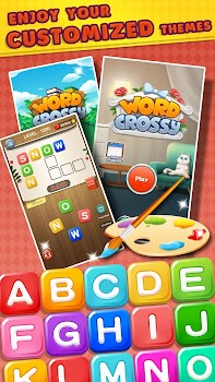 Word Crossy! - A Crossword Scrabble Puzzle