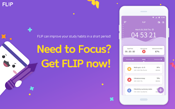 FLIP - Focus Timer for Study