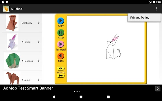 Animal Origami Free Origami App Origami Folding By Tunny Apps