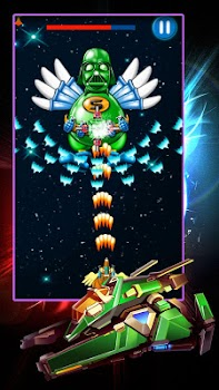 Chicken Shooter: Galaxy Attack