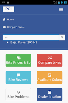 India Bikes : Price App : Reviews Colors Problems