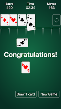 Solitaire Classic Klondike By Shadow Wolf Free Games Card