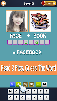 2 Pics 1 Word - Fun Word Guessing Game - Pics Quiz