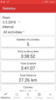 Walking for Weight Loss & Pedometer - Step Counter