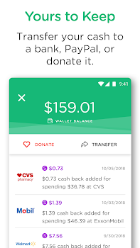 Dosh: Automatic Cash Back App for Shopping & Gas