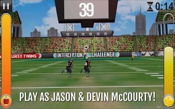 McCourty Twins: INT Challenge