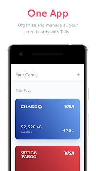 Tally: Credit Card Debt Payoff Planner & Pay Bills