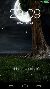Fireflies lockscreen