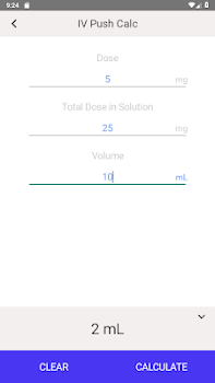 IV Infusion Calculator